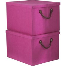 Inishcoo Lidded Storage Boxes (Set of 2)