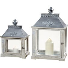 Eugenie 2 Piece Lantern Set