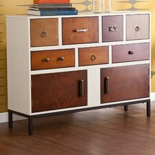 Devlin 2 Door, 7 Drawer Cabinet