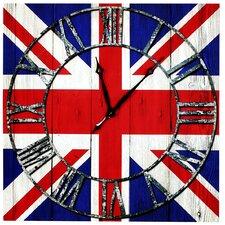 Wanduhr Union Jack
