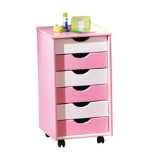 Pierre ABC 6 Drawer Chest of Drawers