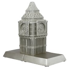 Big Ben Book Ends in Champagne (Set of 2)