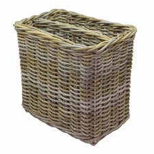 Rattan Magazine Basket