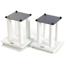 SL Series 30cm Fixed Height Speaker Stand (Set of 2)
