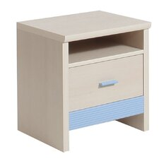 Lazo 1 Drawer Bedside Table