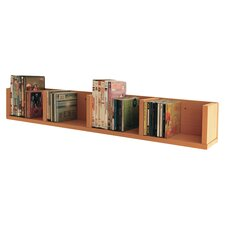 Multimedia Wall Mounted Storage Rack
