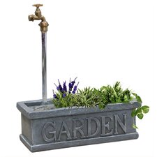 Polyresin Tap and Trough Fountain