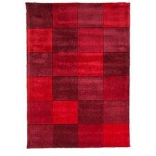 Handgeknüpfter Teppich Inifinite Inspire in Rot