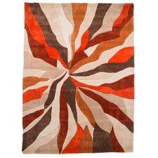 Teppich Infinite in Orange