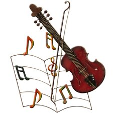 Wanddekoration Musik