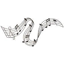 Wandtattoo Musikalischer Fluss