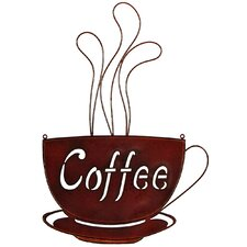 Schild Coffee, Originalgemälde