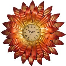 Wanduhr Flower XXL 82,5 cm