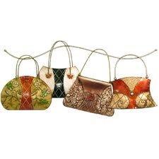 Wanddekoration Handtaschen