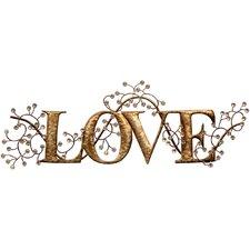 Typografische Kunst Love