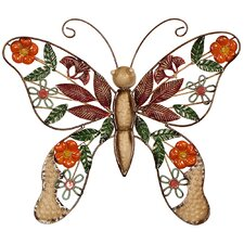 Butterfly Original Painting Plaque