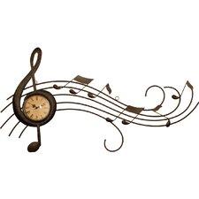 Wanduhr Music
