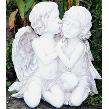 Statue Kissing Angels
