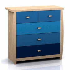 Burradoo 5 Drawer Chest of Drawers