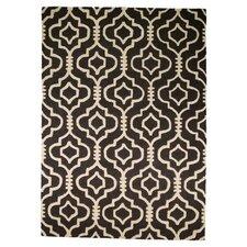 Teppich Moorish in Schwarz