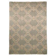 Teppich Moorish in Hellblau