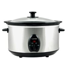 3.5L Stainless Steel Oval Slow Cooker