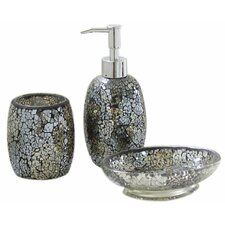 Mosaic Bathroom Accessory Set
