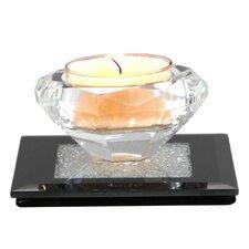 Moon Dust Glass Tea Light Holder