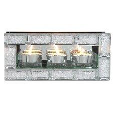 Teelichthalter aus Kristallglas