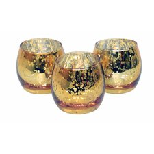 3-Piece Tealight Set (Set of 3)