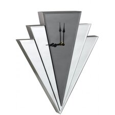 Art Deco Mirror Wall Clock