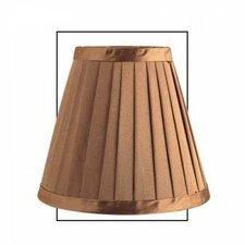 15 cm Lampenschirm Empire aus Seide