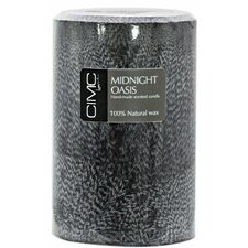 Midnight Oasis Pillar Candle