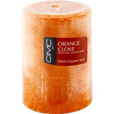 Orange Clove Pillar Candle