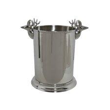 Weinkühler Peretna Double Head aus Metall