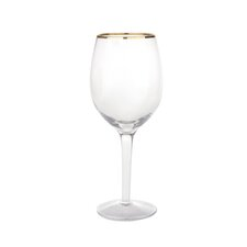 0.33L Wine Glasses in Gold Line (Set of 4)