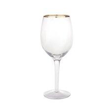 0.33L Wine Glasses in Gold Line (Set of 4)
