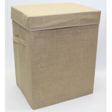 Hessian Folding Laundry Storage