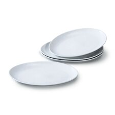 30cm Oval Steak Plate Set (Set of 4)