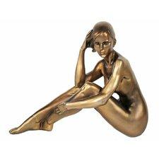Figur Ausdrucksstarke Frauenskulptur