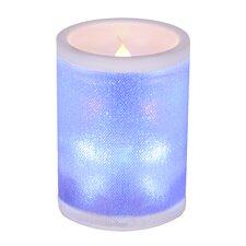 LED-Kerze mit Farbwechsel