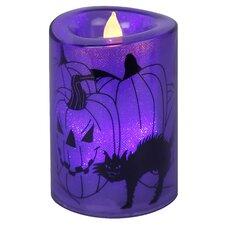 LED-Kerze Black Cats
