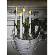 4-tlg. LED-Leuchtkerzen-Set