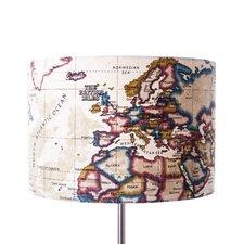 40 cm Lampenschirm Old World aus Stoff