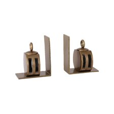 Lee Bookends with Pulley (Set of 2)
