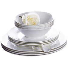 Bone China 12 Piece Dinnerware Set