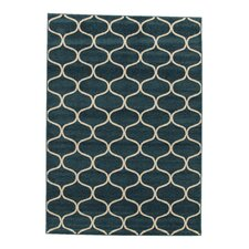 Teppich Raphael in Marokko Blau/Beige