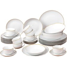 40 Piece Porcelain Dinnerware Set