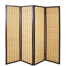 4-tlg. Raumteiler, 178 cm x 182 cm