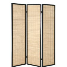 178cm x 137cm Gina Paravent 3 Panel Room Divider